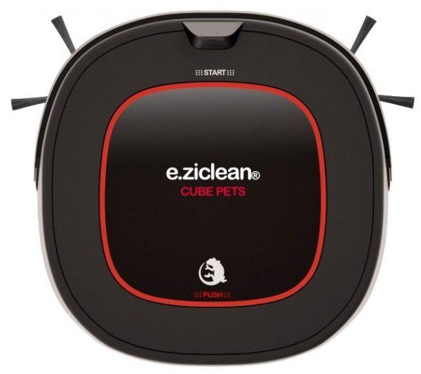 робот пылесос e.ziclean Cube Pets